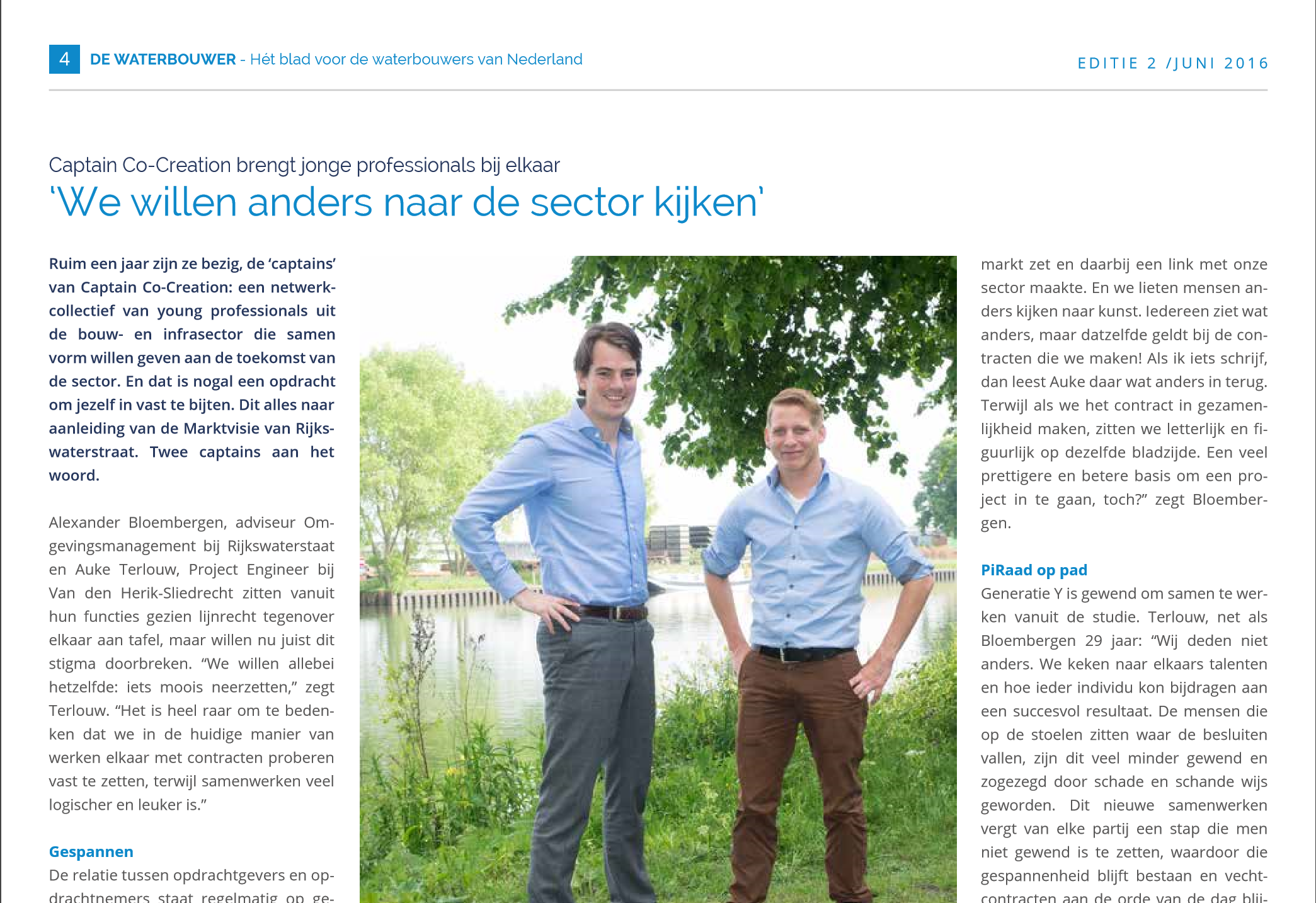 CCC-screenshot voor website